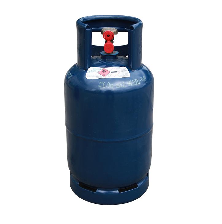 Gasfles 10.5KG gevuld met propaan gas